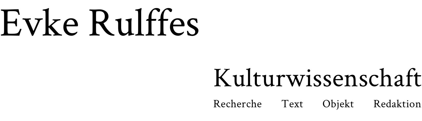 Evke Rulffes